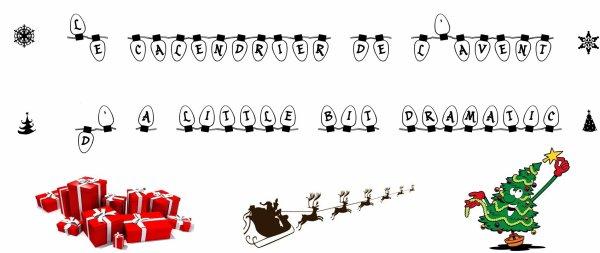 Le Calendrier de l'Avent d'A-Little-Bit-Dramatic - Le Traîneau du Père Noël vous invite à un voyage féérique !!