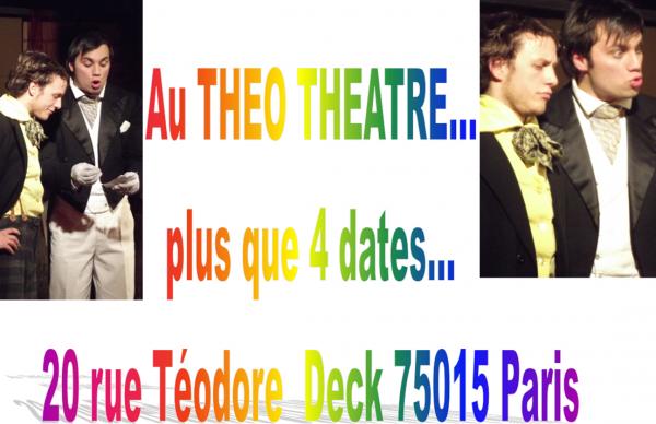 Théâtre à voir sur Paris...Je serais présent...Venez nombreux...