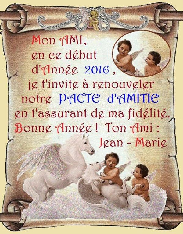 pour Jean Marie