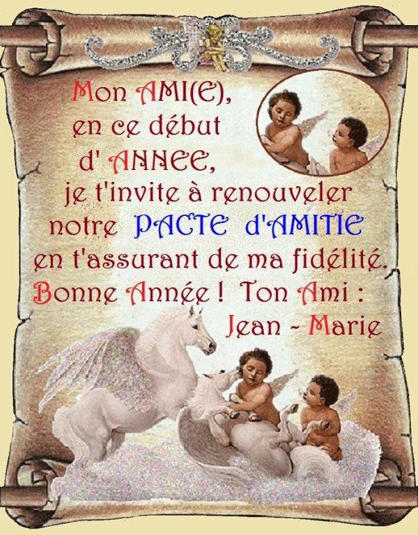A jean Marie