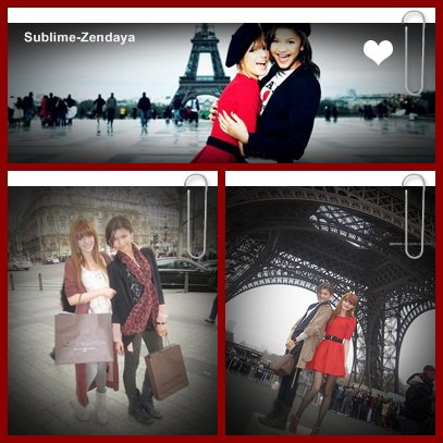 27/03/11 ; Zendaya Coleman & Bella Thorne dans les rues de Paris .. *