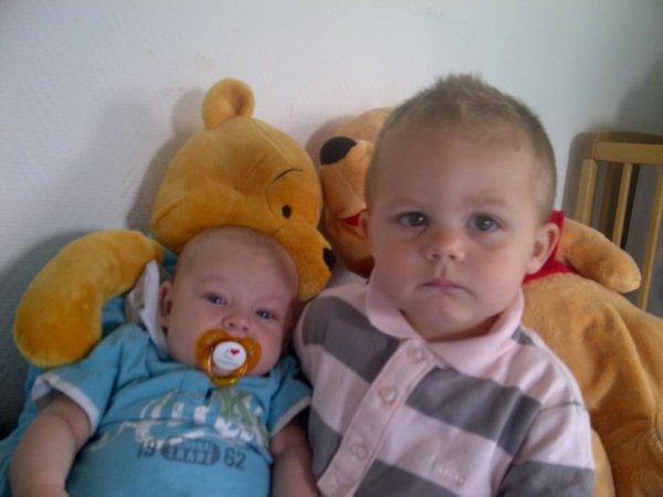 mes deux petits fils