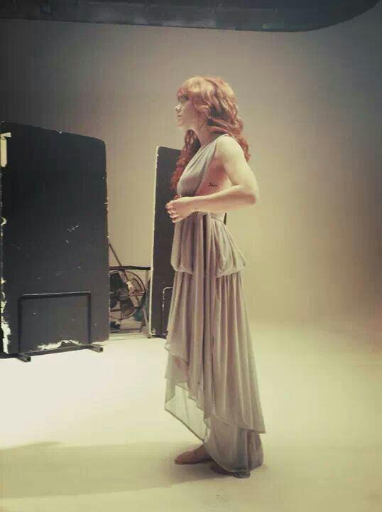 Anais Delva tournage du clip libéré délivré
