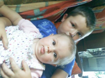 ma nenette a moi et mon neveux ke jaime!!