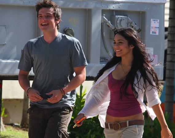VANESSA && son nouveau petit ami Josh Hutcherson