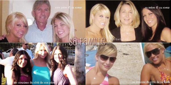 † Sa famille †