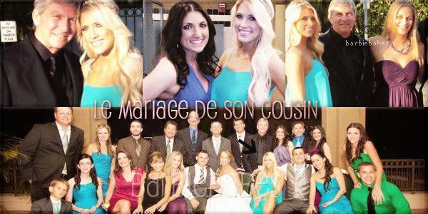 † Le mariage de sa cousine  †