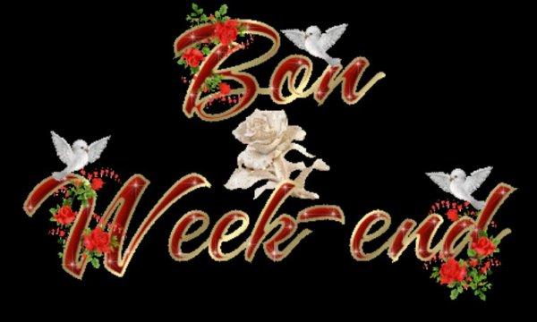Bon week-end à toutes et tous.