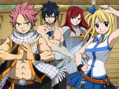 Fairy Tail... ...un manga d'action et d'humour.