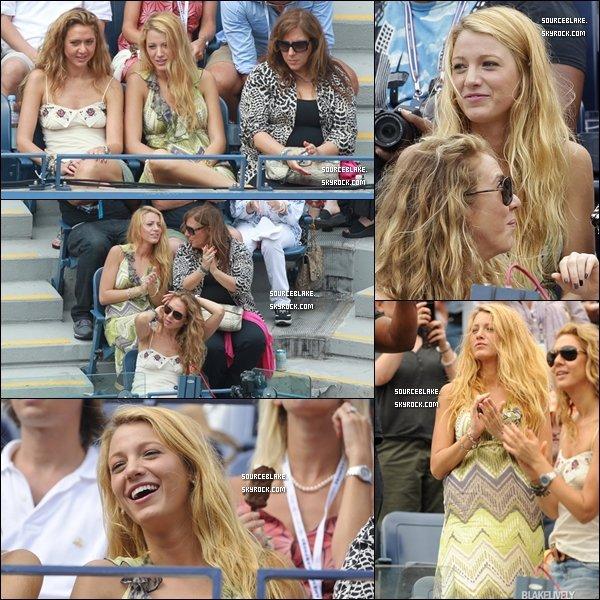 Le 5 septembre 2011 - Blake a été aperçu à l'US Open