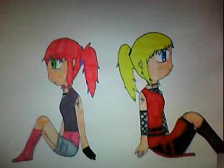 Yumi et Hikari