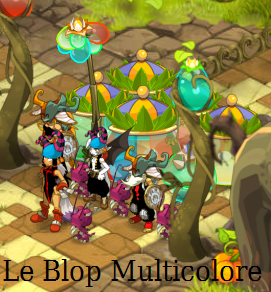 Ze-Team au Blop Multicolore Royal