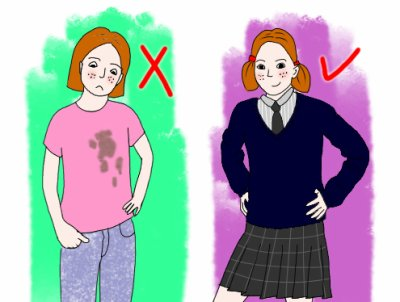 Pour ou contre l 39 uniforme l 39 cole blog de - Argument contre le port de l uniforme ...