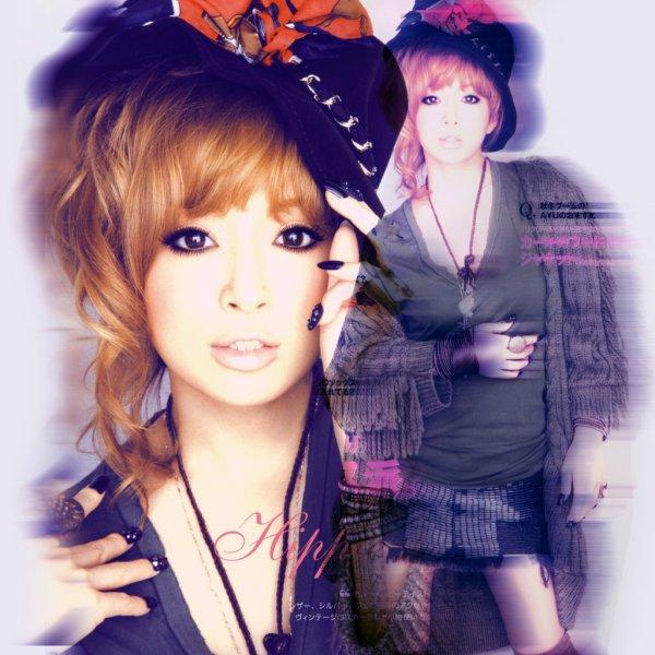 Part Gwenaëlle : La photo est hors sujet, mais c'est mon idole de toujours ! ... AYUMI HAMASAKI