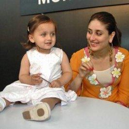 ma niece samira la fille de ma soeur karisma kapoor