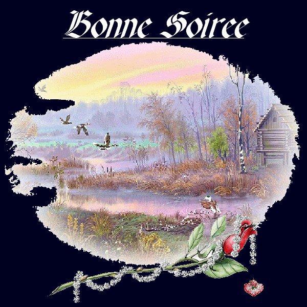 BONNE SOIREE EN CE VENDREDI
