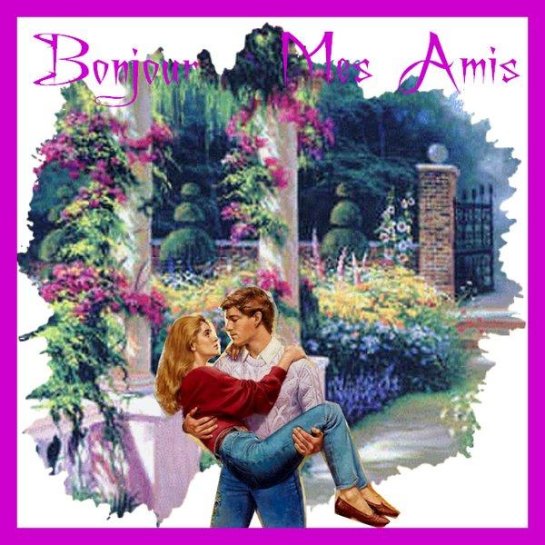 BONJOUR MES AMIS