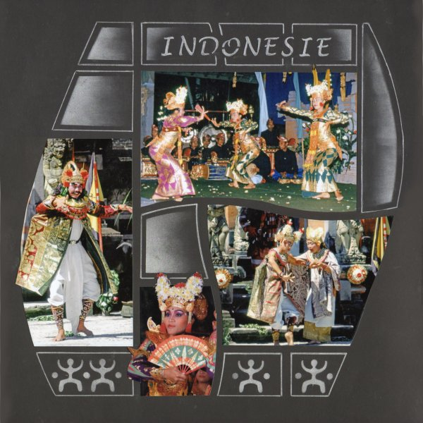 DANSEUSES EN INDONESIE