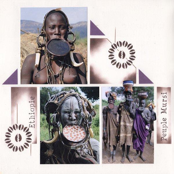 """ETHIOPIE """"LES MURSIS"""""""