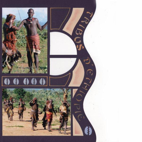 PAGE MULTIPLE TRIBUS ETHIOPIE      PAGE GAUCHE DEVANT
