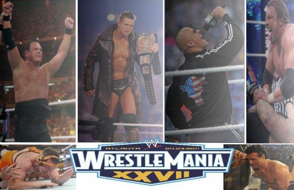 Wrestlemania XXVII : mes réactions !
