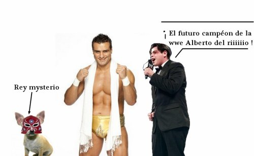Semaine spéciale Alberto del Rio sur boîte-à-catch XD !