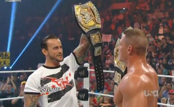 Deux wwe champions ! WHAT ? 0_0