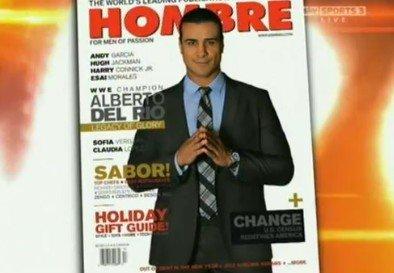 ALBERTO dans le magazine Hombre !!!!!!!