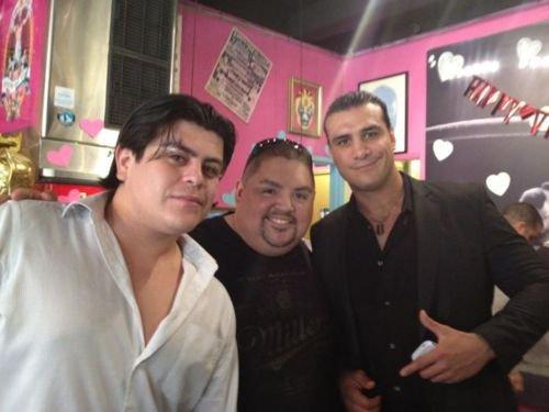 Alberto était bien de retour à ELIMINATION CHAMBER !!!! :D