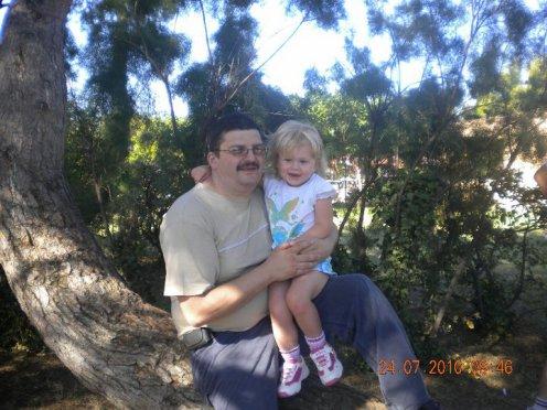 l'homme de ma vie et notre petite princesse