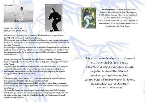 Arts Martial : notre association