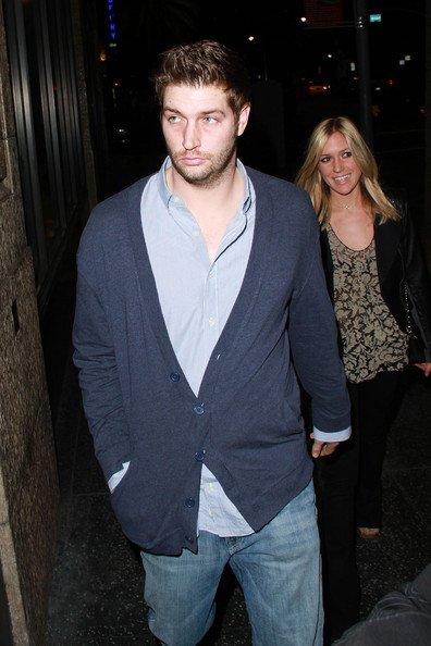 Kristin s'est rendu au restaurant Katsuya le 27 janvier avec son boyfriend Jay Cutler