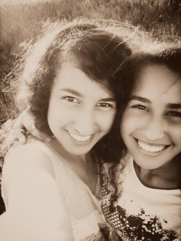 M sister et moi ! ♥