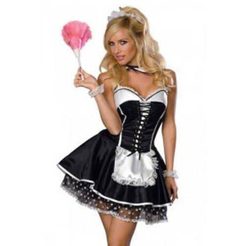 Une jolie p'tite soubrette ....pour Mardi Gras ......vous aimeriez......ou alors ....une écolière ....une infirmière....une secrétaire.....une bonne soeur....ou  ???