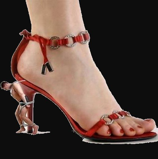 Le pied de femme n'est pas simplement aimé que par les fétichistes .......