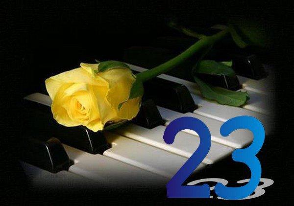Aujourd'hui c'est le 23 Février ....un jour très important pour moi ....le jour de ma naissance