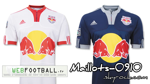 red bull new york home away maillots de foot 2009 2010. Black Bedroom Furniture Sets. Home Design Ideas