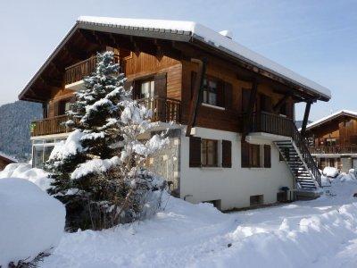 Le Gîte , l'hiver....( Cliquez sur l'image pour l'agrandir)