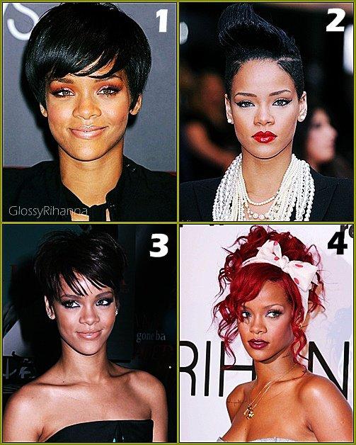 Rihanna et ses coupe de cheveux.                 Article posté par : Mélissa .