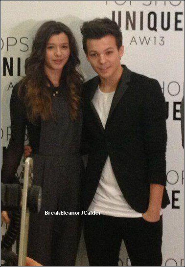 Eleanor et Louis / TopShop Fashion Show- Londres- 17/02/2013