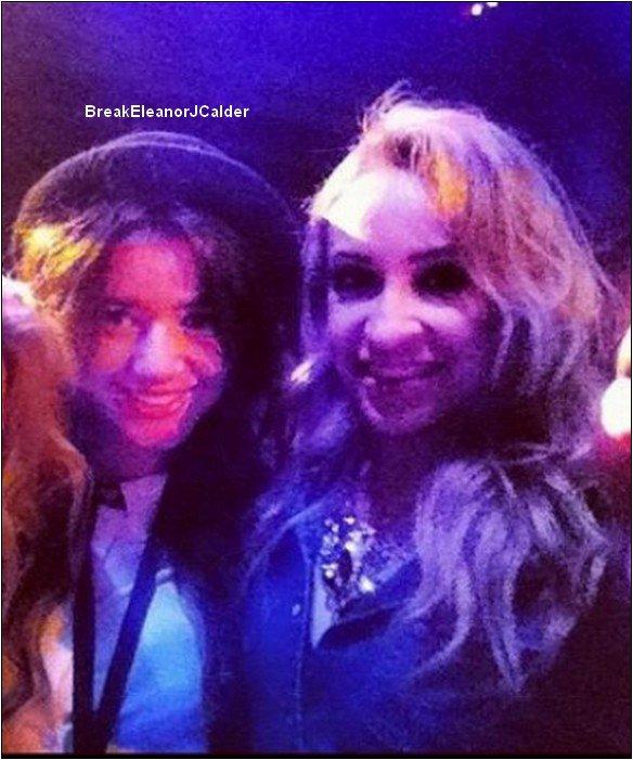 4/12/12 - Eleanor dans la rue de New York et à l'hotel elle discutait avec la femme de Paul + une photo d'elle et Danielle.