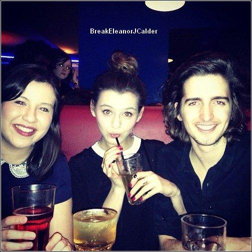 Eleanor était a une soirée avec Max Hurd et une autre amie - 02/02/2013