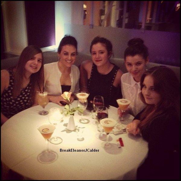 03/02/2013- Eleanor et ses amis étaient a l'anniversaire d'Alana + Photos d'Eleanor, Lou Teasdale et Caroline en Suisse (datant de l'année dernière).