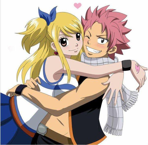 Natsu et Lucy <3
