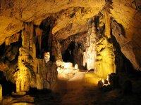 La visite à la grotte