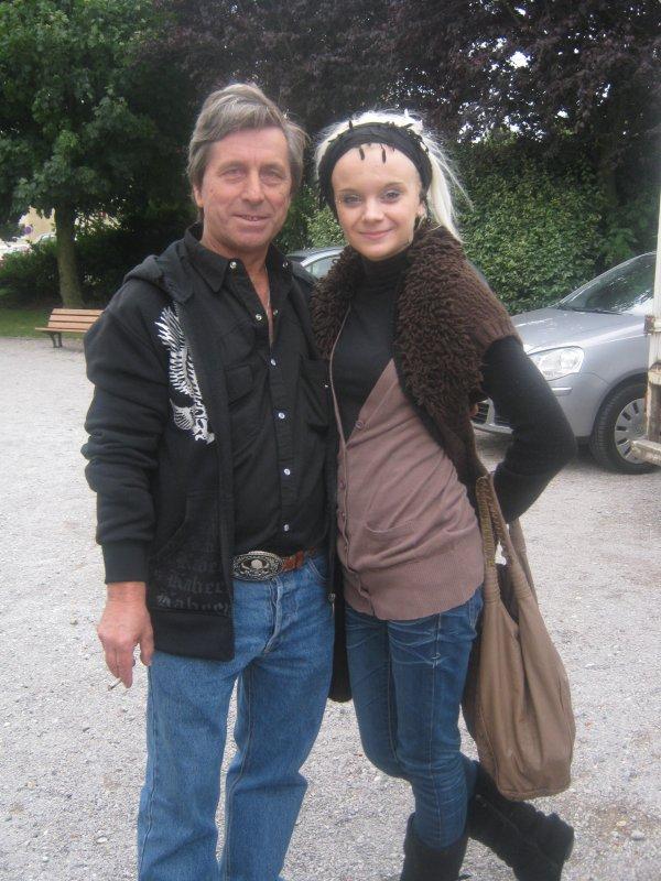 Avec Aurélie ( super chanteuse )