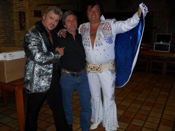 Super soirée avec Johnny Franck et Chris Agullo