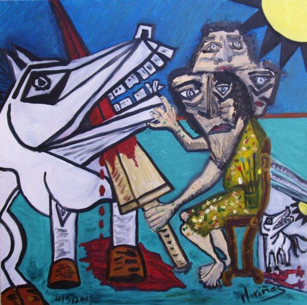 Un pintor contra el gobierno español