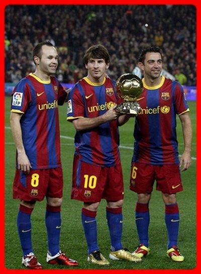 Messi Ballon d'or 2010
