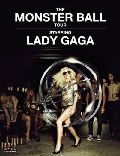 Affiche tournée Monter ball tour